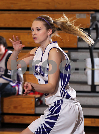 2012 Cameron County Girls JV Basketball @ Coudersport