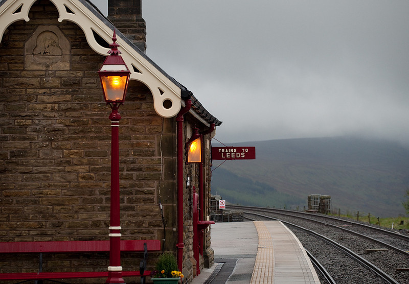 Waiting room in Garsdale.