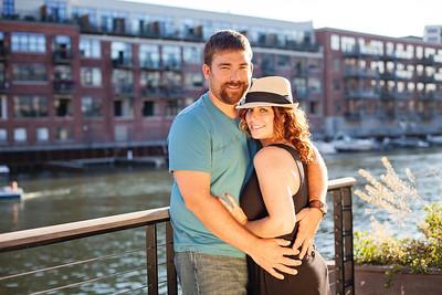 Stephanie & Bob {engagement session}