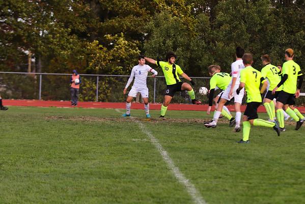 PR Varsity Soccer Playoffs vs Lakeland 10-26-16