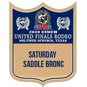 Saturday Night Saddle Bronc