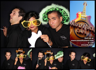 Hard Rock Cafe' Photo Booth