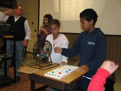 2008/10 - McAuliffe Bingo Night