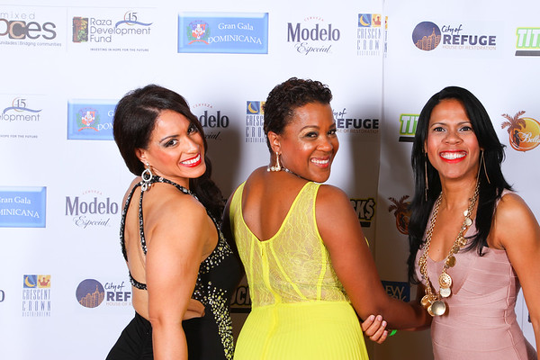Bella Q Gran Gala Dominicana Red Carpet