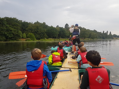 2018-07-20 The Cubs Bell Boating at Trentham