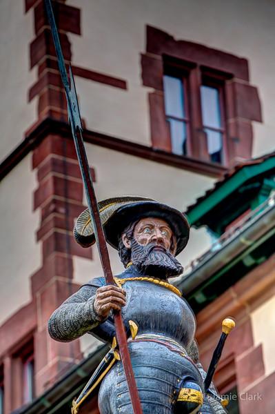 Standing guard. Basel, Switzerland