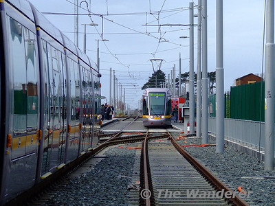 Sandyford LUAS Depot - Saturday 5th December 2009