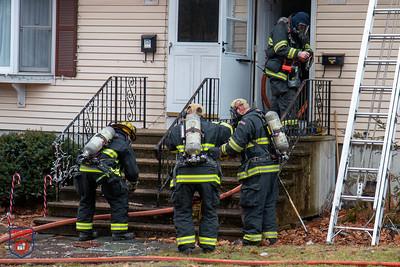 2 Alarm Dwelling Fire - Warwick St, Worcester, MA - 1/10/20