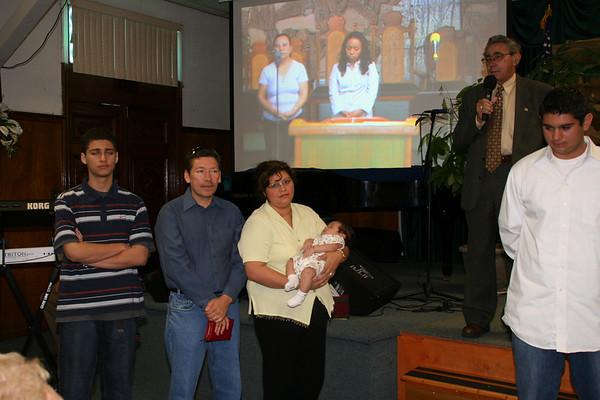Presentación de Joshua Contreras 2006