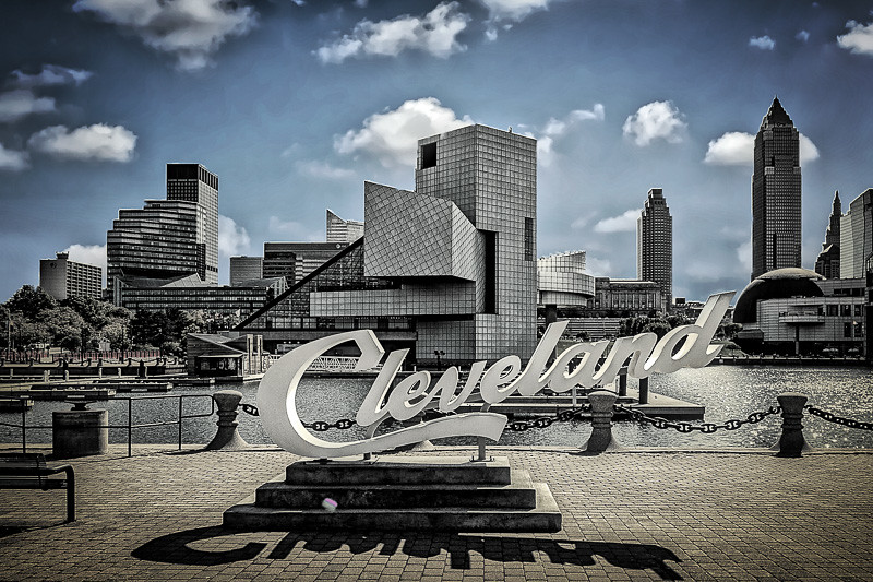 October 12 - Beautiful downtown Cleveland.jpg