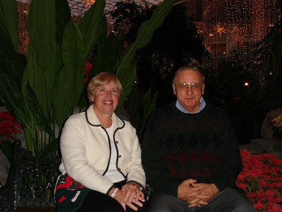 Opryland Hotel with Don and Anita - December