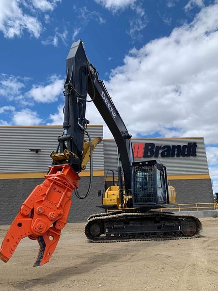 NPK M35K material processor on Deere 300 excavator at Brandt  7-19.jpg