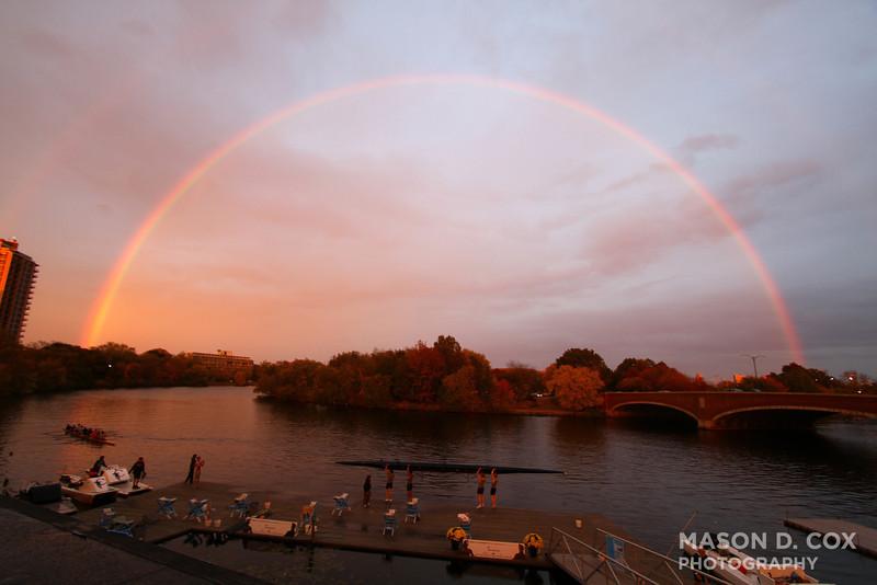 Mega-Rainbow at CBC