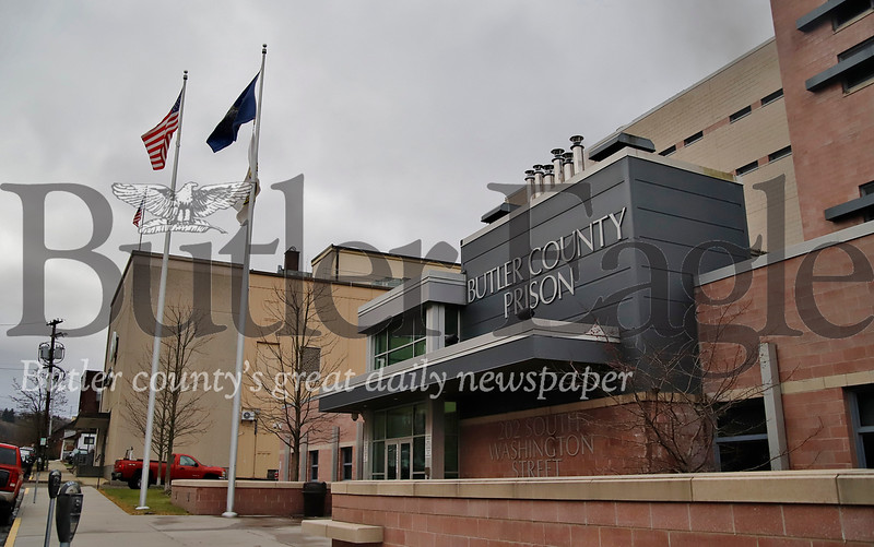 Butler County Prison Seb Foltz/Butler Eagle