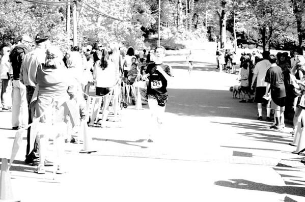 2014 South Salem 5k Finish