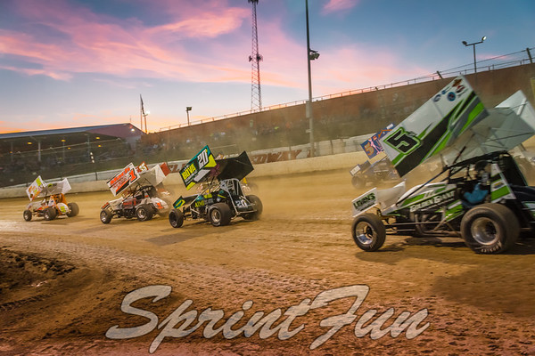 2017 Sprintacular - NRA 360s and Non-Wing