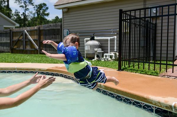 Jacob Swimming
