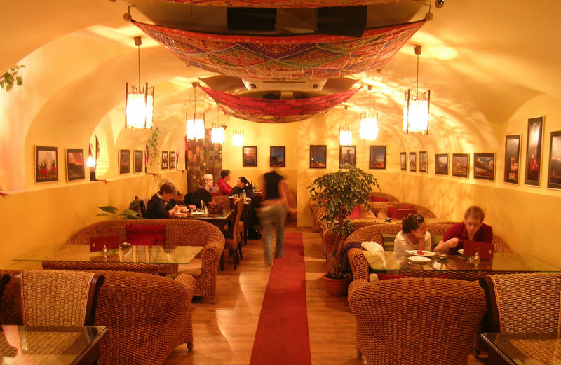 Interior of The Vegetarium