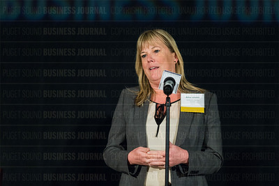 Puget Sound Business Journal's 2018 CFO of the Year Honorees luncheon at the Grand Hyatt Seattle