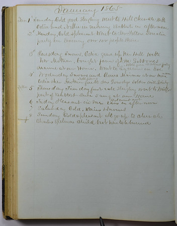 Volume 1: 1865