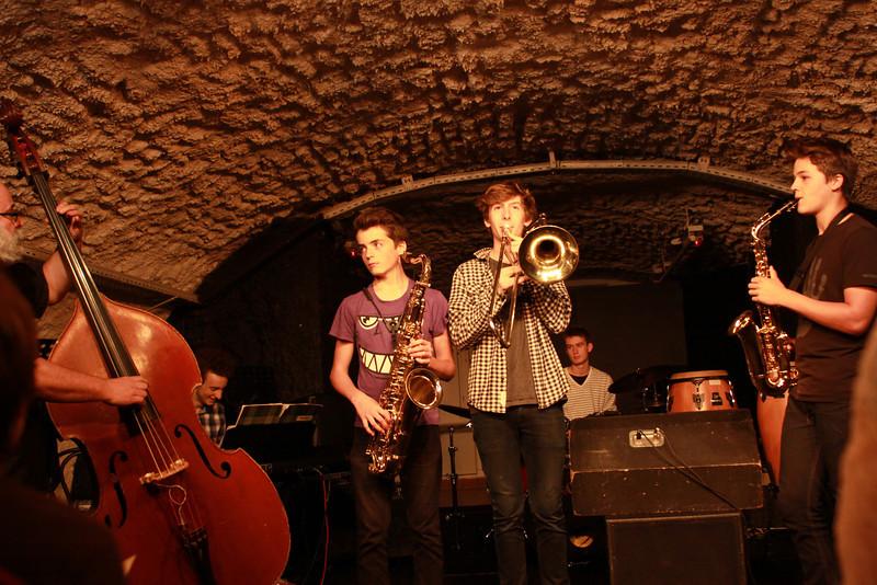 Jazz au caveau 2014