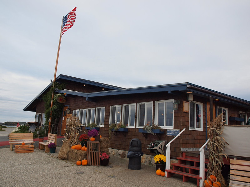 The infamous Cooks Lobster House on Bailey Island - yummy food - we ate there for lunch 2 days in row!