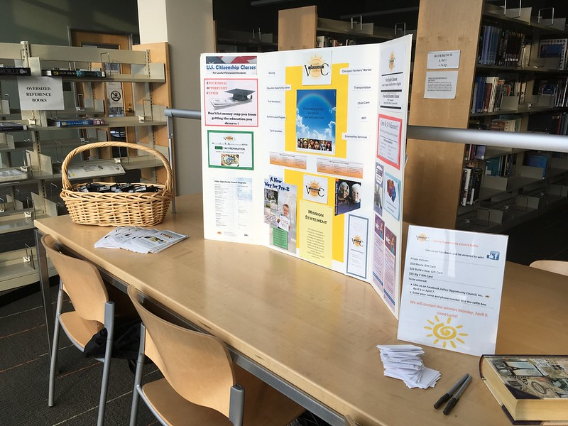 Display by Valley Opportunity Council (V.O.C.)