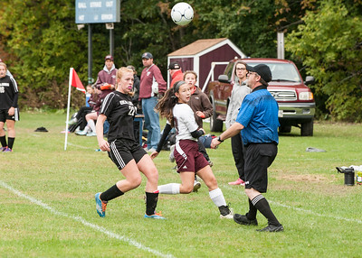 Hall-Dale vs Monmouth Girls Soccer