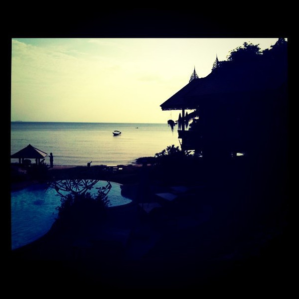 Moving day. New home on Koh Samui, Thailand.