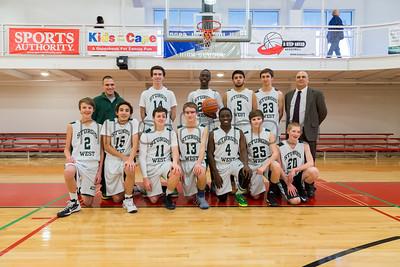 Sturgis West JV A Boys Basketball (vs. Old Colony)(2015)
