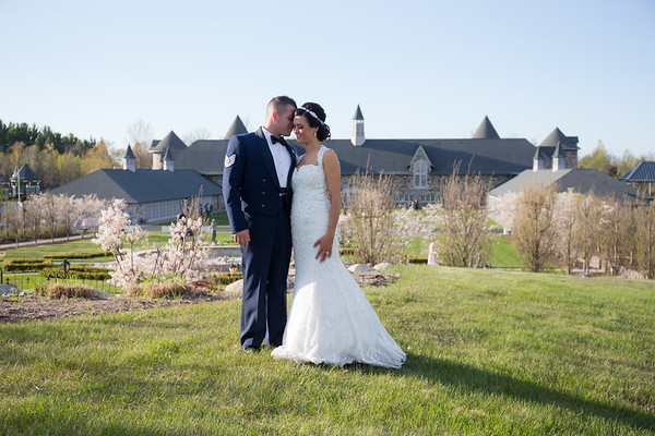 Danielle + Chuck Castle Farms Wedding Photography