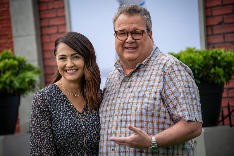 WESTWOOD, CALIFORNIA - JUNE 02: Lindsay Schweitzer and Eric Stonestreet attend the Premiere of Universal Pictures' 'The Secret Life Of Pets 2' at Regency Village Theatre on Sunday, June 02, 2019 in Westwood, California. (Photo by Tom Sorensen/Moovieboy Pictures)