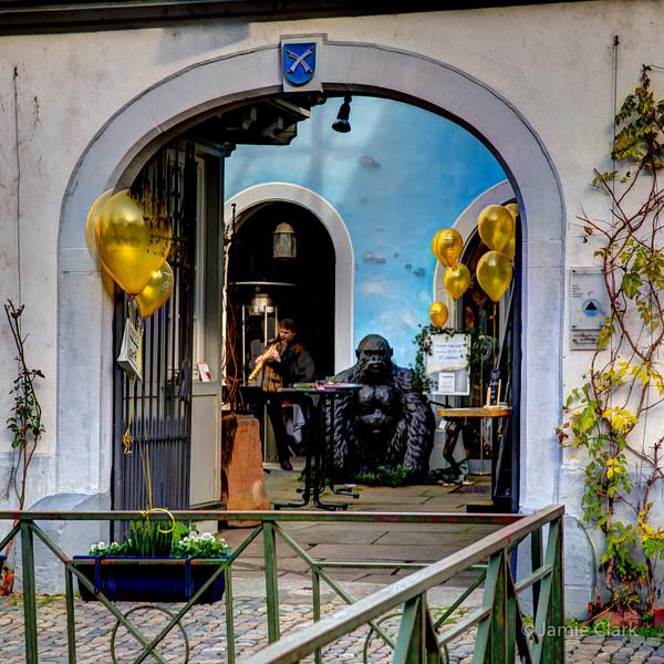 Gallery Gorilla. Freiburg, Germany
