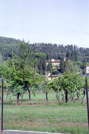Italy 1993: Fiesole - I Tatti, home of Bernard Berenson outside Florence.