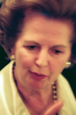 Margaret Thatcher for Forbes