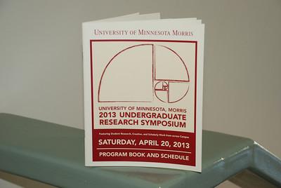 2013 04 20: UMN Morris, Undergrad Research Symposium