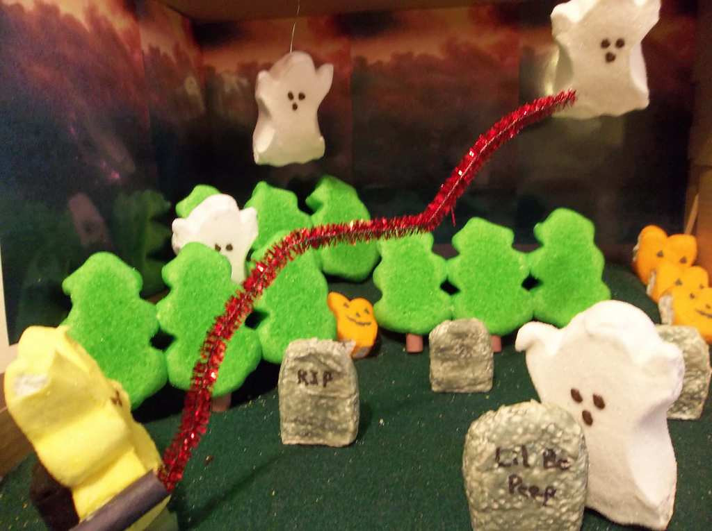""". \""""Peep Busters,\"""" by Mary Liedl"""