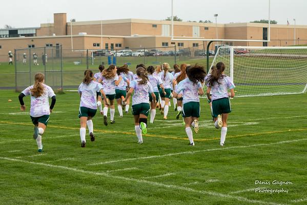 DHS Girls Soccer Senior Night