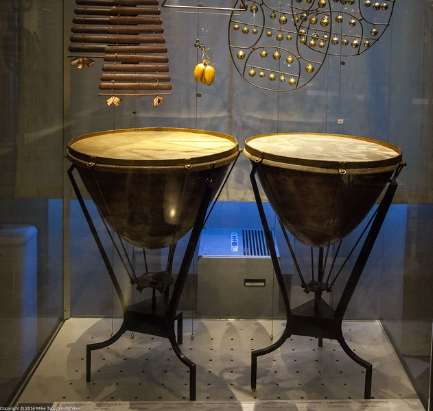 Florence - Antique Drums at Accademia Gallery