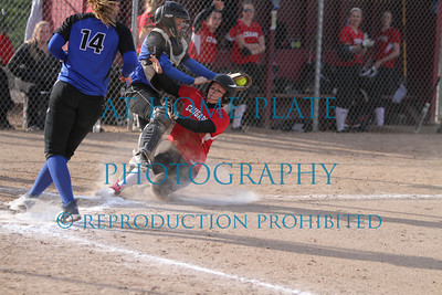 Varsity Softball Tournament the Dalles game 2