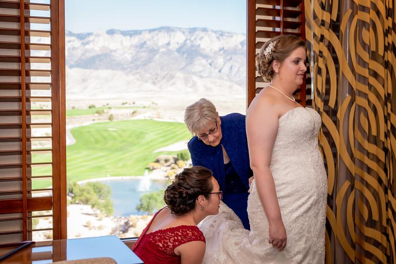 Sandia Hotel Casino New Mexico October Wedding Getting Ready C&C-68.jpg