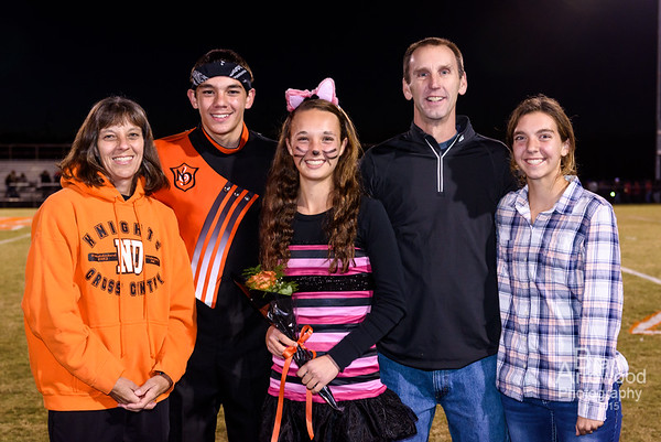 NDHS Fall Senior Night 2015
