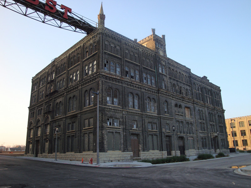Pabst Brewery.
