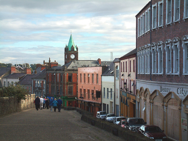 Derry - Old downtown