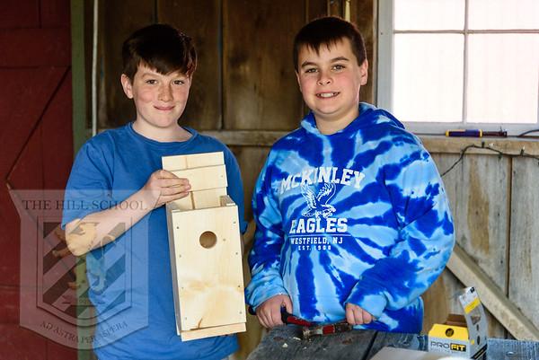 5th Grade Bluebird Boxes