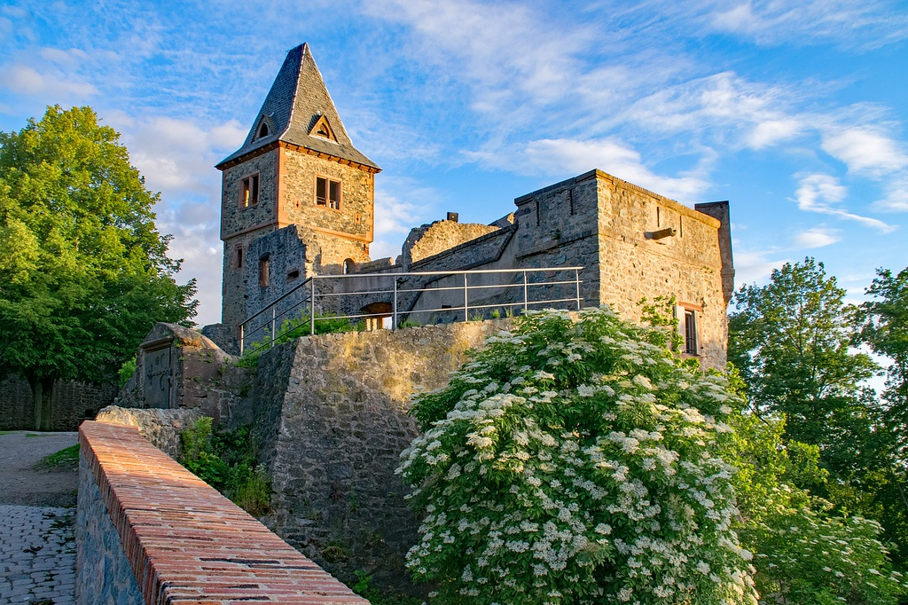 Frankenstein Castle in Germany