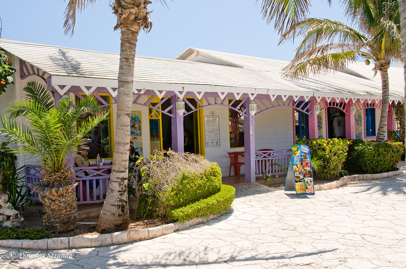 Ice cream shop at Punta Sur