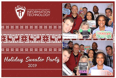 Caesars IT Holiday Sweater Party 2019