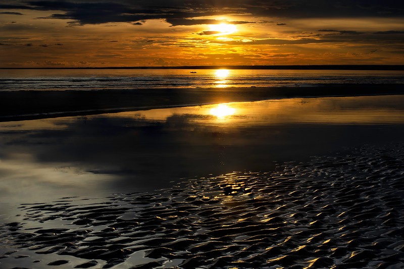 Flamy sunset