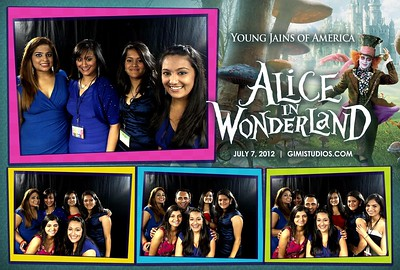 YJA 2012 | Day 3 (Evening) - Alice In Wonderland Formal Photobooth